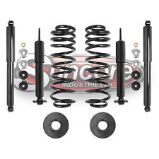 1998-02 Lincoln Navigator Rear Air to Coil Spring Conversion w/ 2WD Gas Shocks