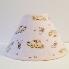 Pink Classic Winnie the Pooh Fabric Nursery Lamp Shade Free Shipping