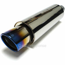 """APEXi N1-X Evolution Extreme Universal Muffler Exhaust NA 60.5mm / 2.5"""" Piping"""