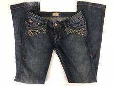 Antik Denim Women's Denim Jeans Studded Dark Wash Size 29 x 34