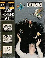 Les CAHIERS de la BANDE DESSINEE - 61 - CAUVIN