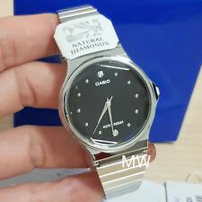 0284a33ebcee Reloj Analógico Retro Vintage CASIO MQ-1000D-1A Diamantes Naturales De Plata  Nueva