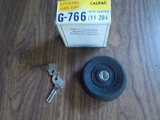 76 1976 78 1978 Lancia Beta Coupe & Sedan Locking Gas Fuel Petrol Cap Vintage
