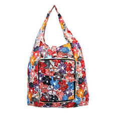 Everyday Deal Klein Travel Women Eco Shopping Bag Tote (Flowers)