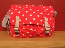 BNWT Cath kidston spot cotton saddle bag.RRP £48.00