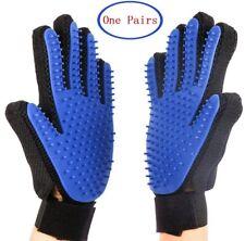 Pet Grooming Gloves Hair Remover Massage Brush Deshedder For Dog Cat Shedding
