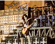 TOMMY THAYER Signed Autographed KISS 11x14 Photo