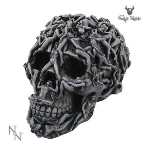 Skull Ornament Hell's Desire Gothic Fantasy Gifts Figurine Figure Statuette