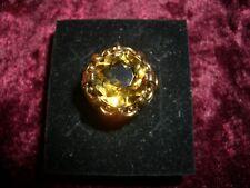 Citrin Gold Ring, tolle Qualität. Sehr schöner Ring aus den 50er Jahren.