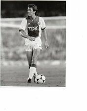 Original Press Photo 8.5 x 6.5 - Arnold Muhren - Ajax 21.8.1985