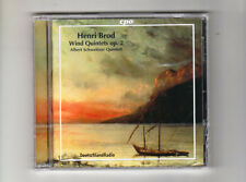 (CD) Henri Brod: Wind Quintets / ALBERT SCHWEITZER QUINTETT / SEALED