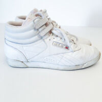 Rare Reebok Women's US 11 Aerobics Shoes Boots Sneakers White 80's 90's Vintage