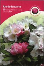Canada Stamps - Booklet Pane of 10 - Flowers: Rhododendrons #2320a (BK401) - MNH