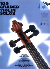 Dip In 100 Graded Violin Solos Pop Popsongs Noten für Violine Geige