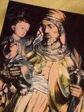 POSTCARD St JOSEPH STATUE ANGLO CATHOLIC ST MARYS BOURNE STREET LONDON ENGLAND