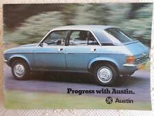 AUSTIN Range brochure 1975 - Mini & 1275 GT Allegro 2 Maxi & Princess - 3146/B