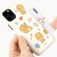 Genuine Kakao Friends Little Park Card Hard Case Galaxy S21 S21 Plus S21 Ultra