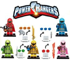 5pcs CUSTOM-MADE Power Ranger Megazord Ninjago Figure Minifigure for LEGO