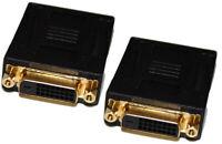 DVI-D Dual Link Female to Female Adapter DVI-D coupler F-F