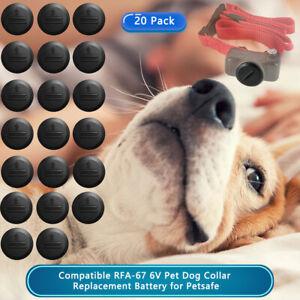20 PACK Batteries For Pet Safe Battery 6V RFA-67 Fence Bark Training Pet Collars