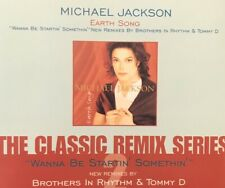 MICHAEL JACKSON - EARTH SONG THE CLASSIC REMIX SERIES 4 TRACKS CD SINGLE