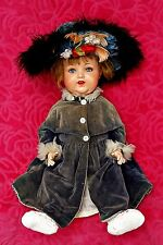 Antique German Heubach-Koppelsdorf Closing Eyes Doll