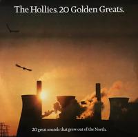THE HOLLIES - 20 Golden Greats (LP) (EX/VG+)
