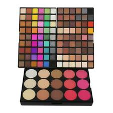 123 Colors Eyeshadow Palette Pro Eye Blush Highlight Matte Makeup Tools Kit C#P5