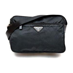Prada Shoulder Bag  Black Nylon 1537020