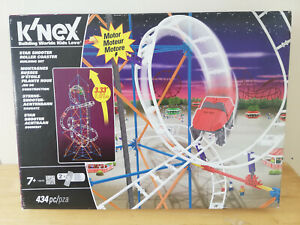 K'nex 13570 Star Shooter Roller Coaster Set INCOMPLETE