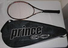 Prince EXO3 Black & Orange Team 100 Tennis Racquet 4 3/4 w/ Full Cover