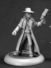 U.S. Agent Reaper Miniatures Savage Worlds Old West Sheriff Gunslinger Cowboy