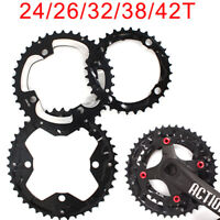 24/26/32/38/42 Double/Triple 104/64BCD Chainring Crankset Sprocket Mountain Bike