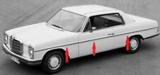 Mercedes Benz C W114 COUPE 2 Door SIDE AND REAR BODY MOULDING STRIPS CHROME TRIM