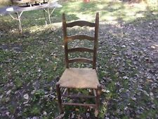 ANTIQUE LADDER BACK CHAIR - CLEAN CONDITION