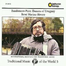 Rene Marino Rivero - Bandoneon Pure: Dances of Uruguay 5 [New CD]