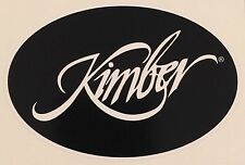 Kimber Handgun Logo Vinyl Sticker Decal Black,  **FREE SHIPPING**