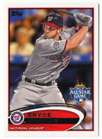 BRYCE HARPER RC 2012 TOPPS UPDATE ALL-STAR GAME BATTING VARIATION #US299