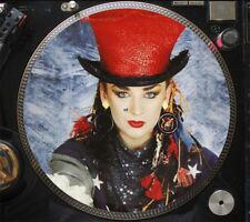 "Culture Club - Love is Love Ultra Rare 12"" Boy George Picture Disc Single LP NM"