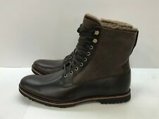 **NEW** TIMBERLAND Men's Dark Brown Kindrick Fur Lined Boots size 10M