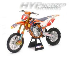 NEWRAY 1:6 KTM 450 SX-F #1 RYAN DUNGEY DIE-CAST ORANGE 49623