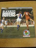 18/04/1981 Blackburn Rovers v Bolton Wanderers  (Creased)
