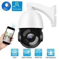 30X ZOOM 5MP PTZ IP Kamera 150M Nachtsicht Überwachungskamera Wasserdicht PAL♥
