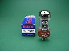 6sn7gtb Tung-Sol TUBO NUOVO/6sn7 Tube/VALVE NEW - > amplificatore TUBI
