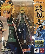 Naruto Namikaze Minato Bandai TAMASHII WEB EXCUSIVE S.H.Figuarts Action Figure