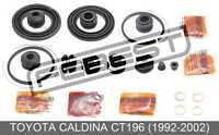 Cylinder Kit For Toyota Caldina Ct196 (1992-2002)