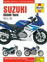 Suzuki GS500 Twin (89 - 08) by Haynes Publishing 9780857339850 | Brand New