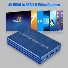 1080P 4K HDMI To USB 3.0 Video Capture Card Dongle for OBS Game Live Stream New