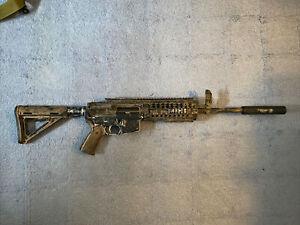 JG M4 RIS Metal Gearbox AEG Airsoft Rifle