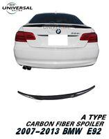 Carbon Fiber Rear Trunk Spoiler for 2007-2013 BMW E92 3 Series M3 Coupe Type A